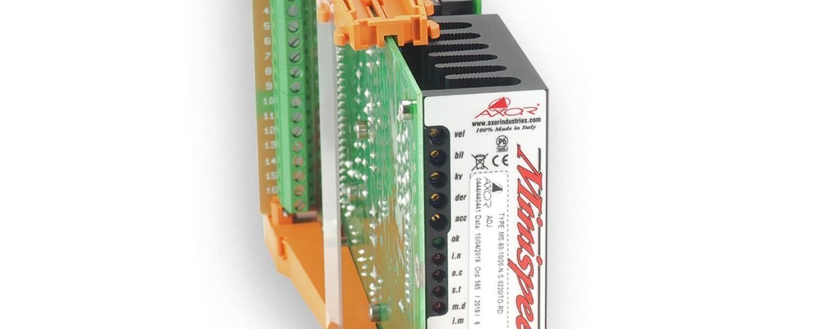 MINISPEED ( MS) modular DC Brushed Servo Drive in Eurocard pcb format